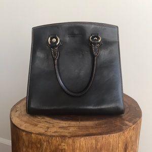 Dooney & Bourke Vintage Black Florentine Leather